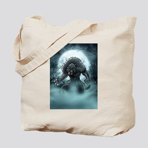 Werewolf's Full Moon Tote Bag