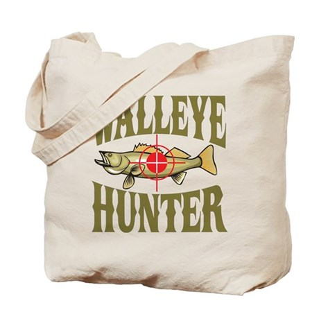 Walleye Hunter Tote Bag