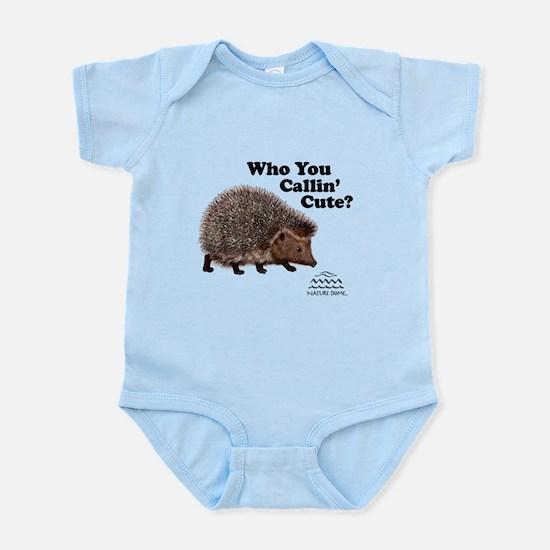 Nature Dome Infant Hedgehog Bodysuit