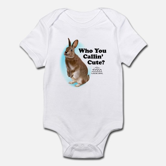 Nature Dome Infant Rabbit Bodysuit