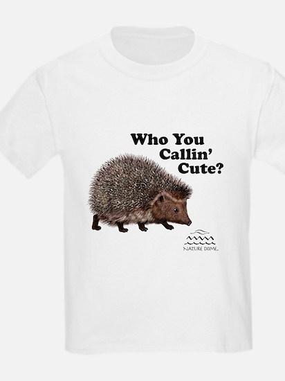 Nature Dome Kids Hedgehog Light T-Shirt
