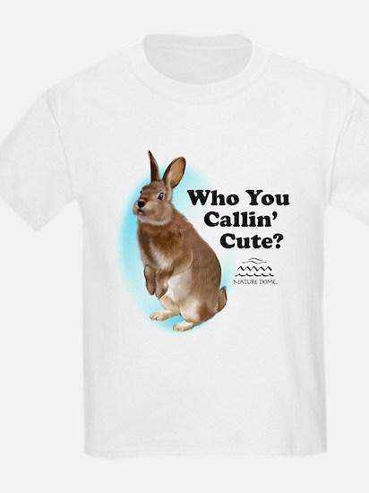 Nature Dome Kids Rabbit Light T-Shirt