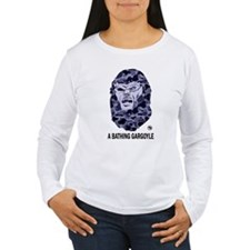A Bathing Gargoyle (Light) Women's Long Sleeve T-S