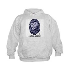 A Bathing Gargoyle (Light) Kids Hoodie