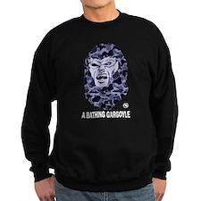 A Bathing Gargoyle (Dark) Sweatshirt (dark)