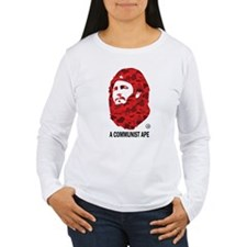A Communist Ape (Light) Women's Long Sleeve T-Shir