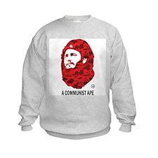 A Communist Ape (Light) Kids Sweatshirt