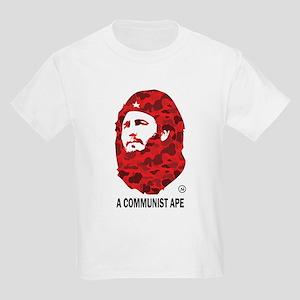 A Communist Ape (Light) Kids Light T-Shirt