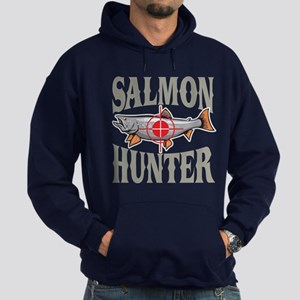 Salmon Hunter Hoodie (dark)