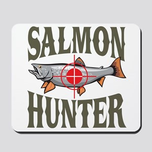 Salmon Hunter Mousepad