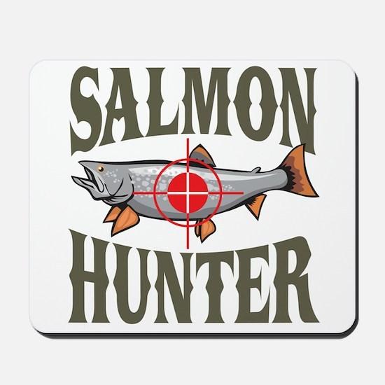 Salmon Hunter Mousepad