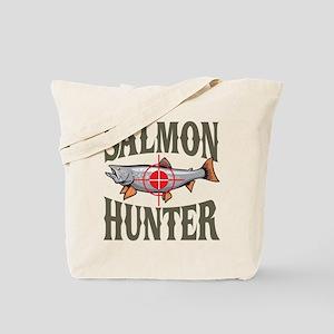 Salmon Hunter Tote Bag