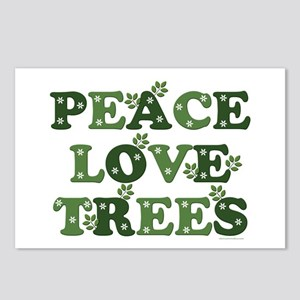 Peace Love Trees Postcards (Package of 8)
