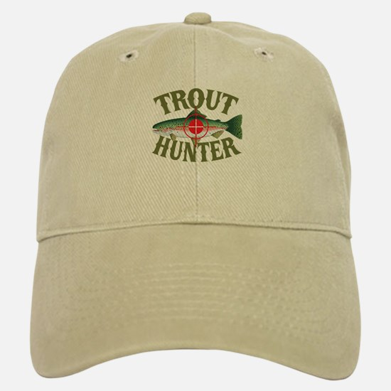 Trout Hunter Baseball Baseball Cap