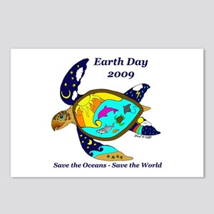 Earth Day Sea Turtle Postcards (Package of 8)