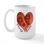 Cheap Date Large Mug