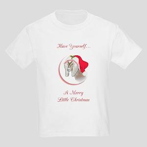 Nubian Doe (Goat) Christmas Kids T-Shirt