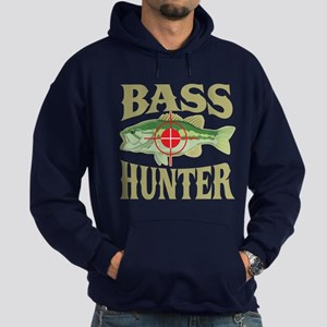 Bass Hunter Hoodie (dark)