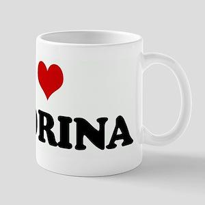I Love MADRINA Mug