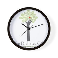 Diabetes OC Wall Clock