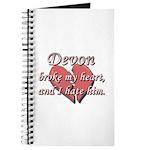Devon broke my heart and I hate him Journal