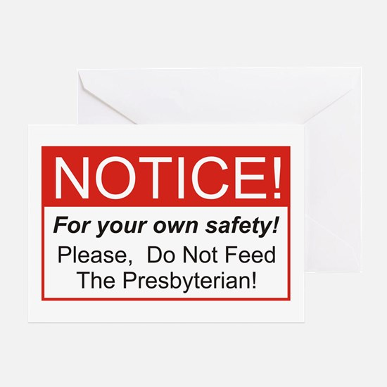 Notice / Presbyterian Greeting Card