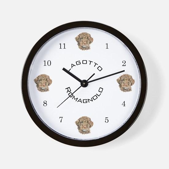 Lagotto special design Wall Clock