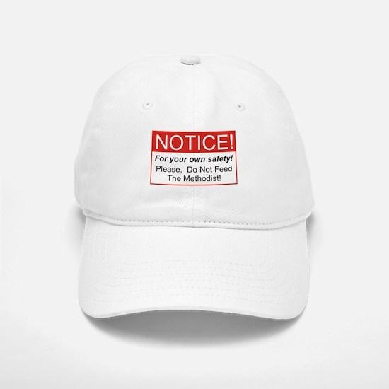 Notice / Methodist Baseball Baseball Cap