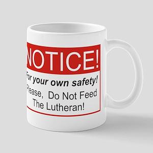 Notice / Lutheran Mug