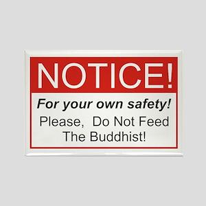 Notice / Buddhist Rectangle Magnet