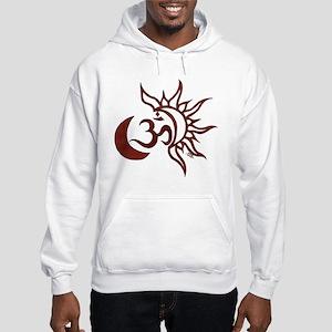 Celestial Om Hooded Sweatshirt