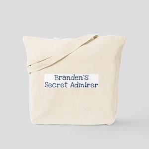 Brandens secret admirer Tote Bag