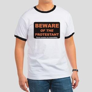Beware / Protestant Ringer T