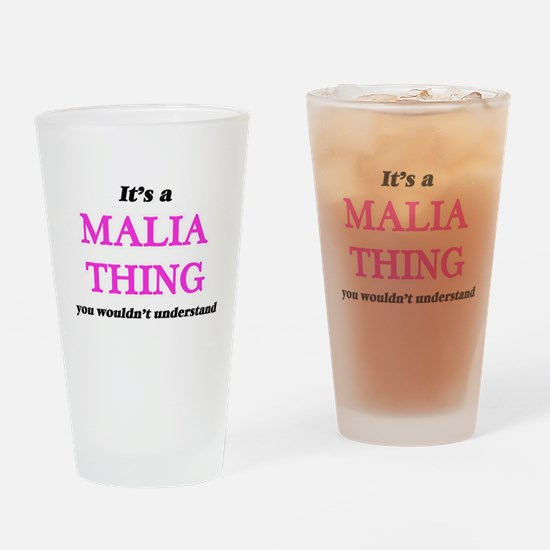 It's a Malia thing, you wouldn& Drinking Glass