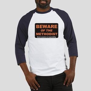 Beware / Methodist Baseball Jersey