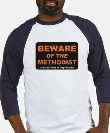 Beware / Methodist Baseball Jersey