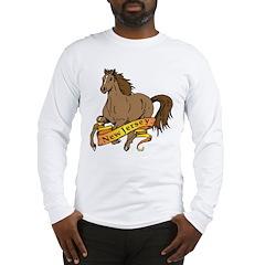 New Jersey Horse Long Sleeve T-Shirt