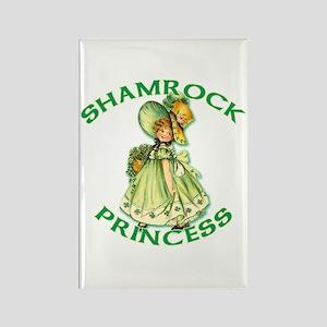 Shamrock Princess Irish Rectangle Magnet