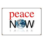 Peace Now Banner