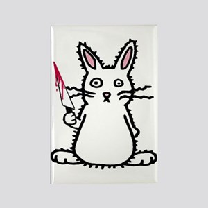 Psycho Bunny Rectangle Magnet