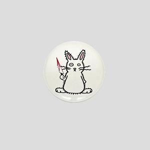 Psycho Bunny Mini Button