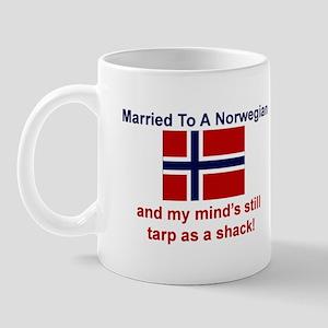 Married To A Norwegian Mug