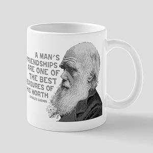 Darwin - Face - Worth Mug