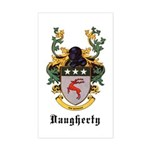 Daugherty Coat of Arms Rectangle Sticker