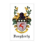 Daugherty Coat of Arms Mini Poster Print