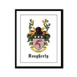 Daugherty Coat of Arms Framed Panel Print