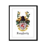 Daugherty Coat of Arms Framed Panel Print