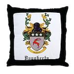 Daugherty Coat of Arms Throw Pillow