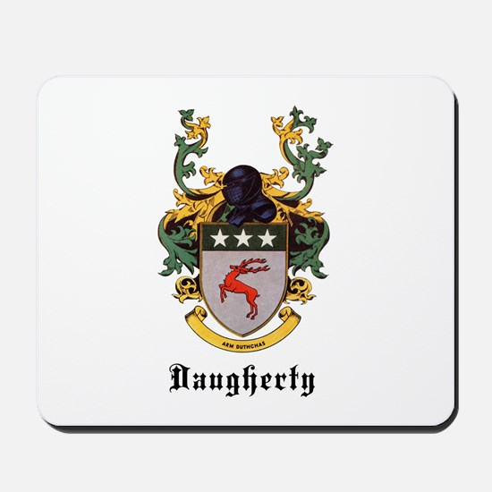 Daugherty Coat of Arms Mousepad