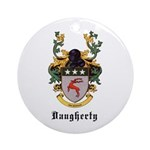 Daugherty Coat of Arms Ornament (Round)